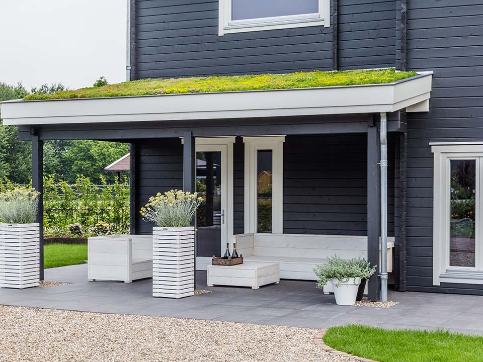 Groen op dak - groendak aanleg